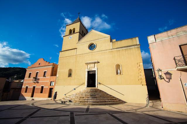 Teulada-Chiesa parrocchiale Vergine del Carmine