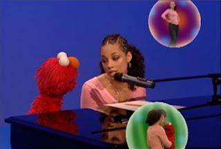 Alicia Keys and Elmo sing Dancing. Sesame Street The Best of Elmo 3