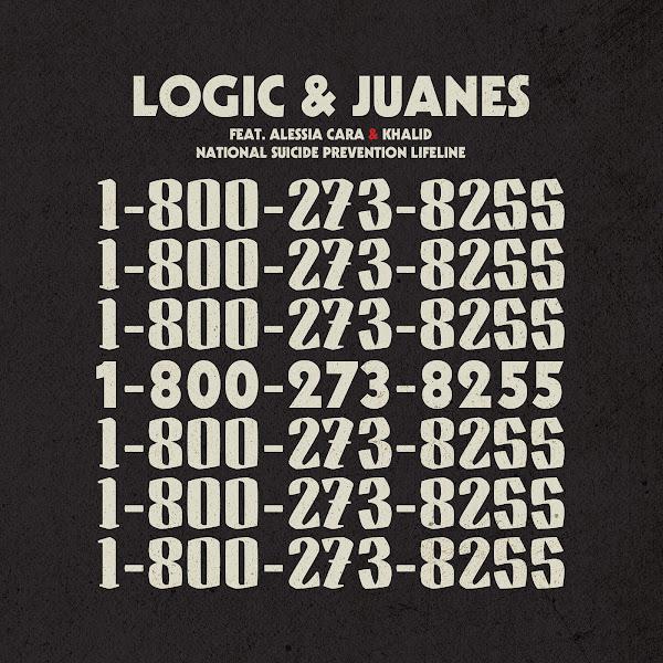 Logic - 1-800-273-8255 (feat. Alessia Cara & Khalid) - Single Cover