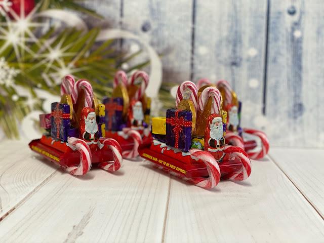 Chocolate Santa Sleigh