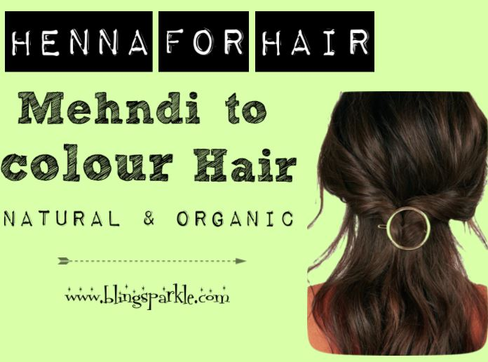 How to use Henna Mehndi to Colour Hair Naturally || All You need to ...