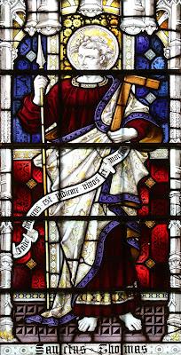 São Tomé Apóstolo - Imagem, vitral, #3