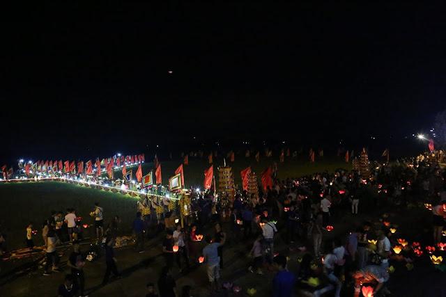 Về Hải Dương dự Lễ Cầu an và Hội hoa đăng trên sông Lục Đầu