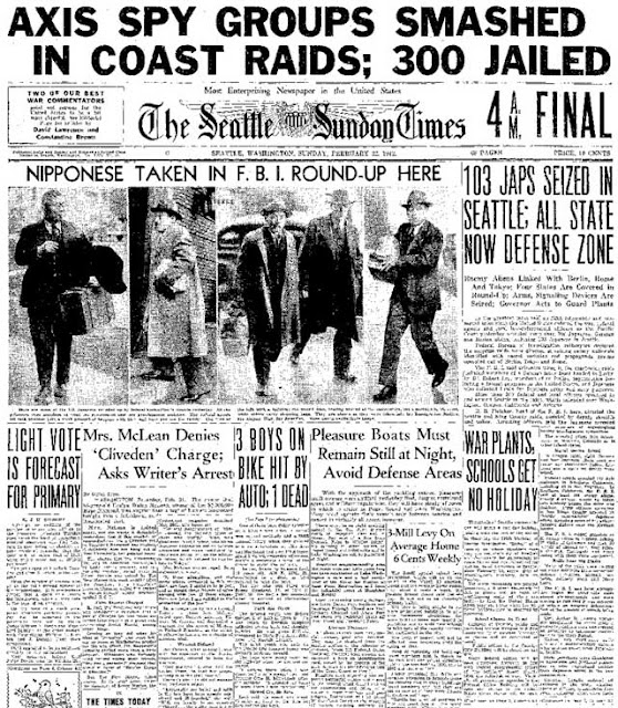 Seattle Sunday Times, 22 February 1942, worldwartwo.filminspector.com