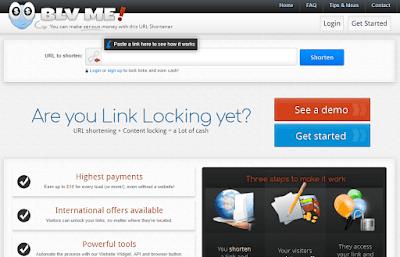 Blv.me url link shortner