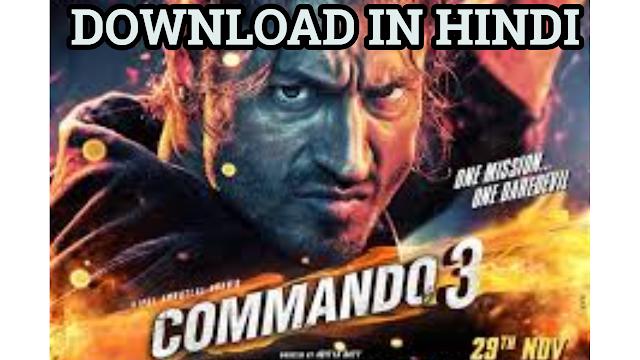 commando 3 movie download