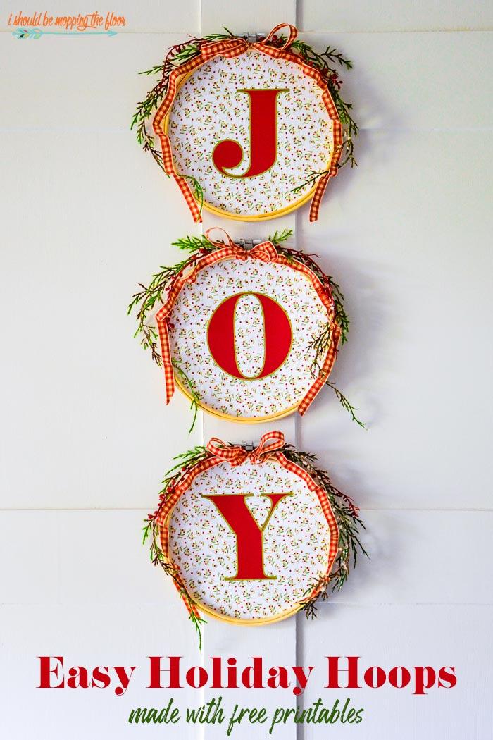 JOY Hoop Art