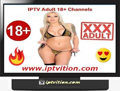 IPTV Adulte +18 chaînes m3u SERVEUR GRATUIT