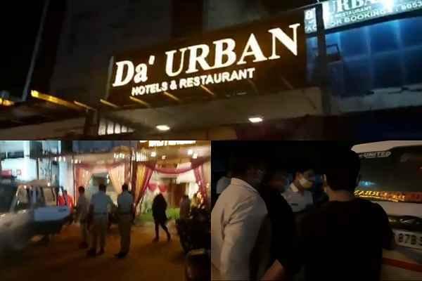 da-urban-hotel-faridabad-44-people-arrested-men-women
