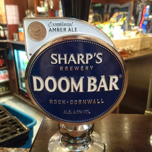 Cornwall Craft Beer Review: Doombar from Sharp's Brewery