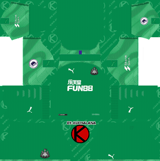 Newcastle United FC 2019/2020 Kit - Dream League Soccer Kits - Kuchalana