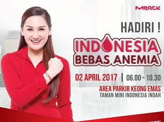 Ayo Dukung Indonesia bebas Anemia dengan Senam Anemiaction