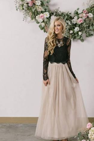 pick up these fascinate bridal separates for bridal shower bridesmaid and surely wedding guest outfits dresses for cold winter wedding