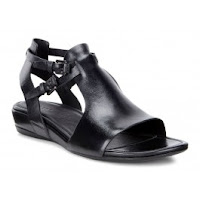 Sandale business dama ECCO Touch 25S (Negre)