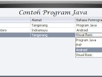 Cara Manambahkan JComboBox ke dalam JTable Java Swing