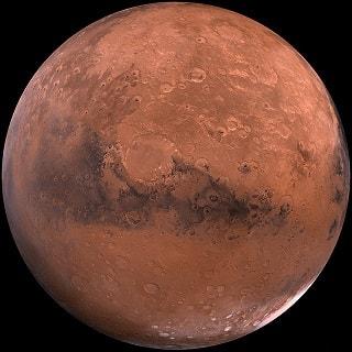 ciri khas planet mars