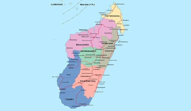 Which of the following are located in Madagascar.