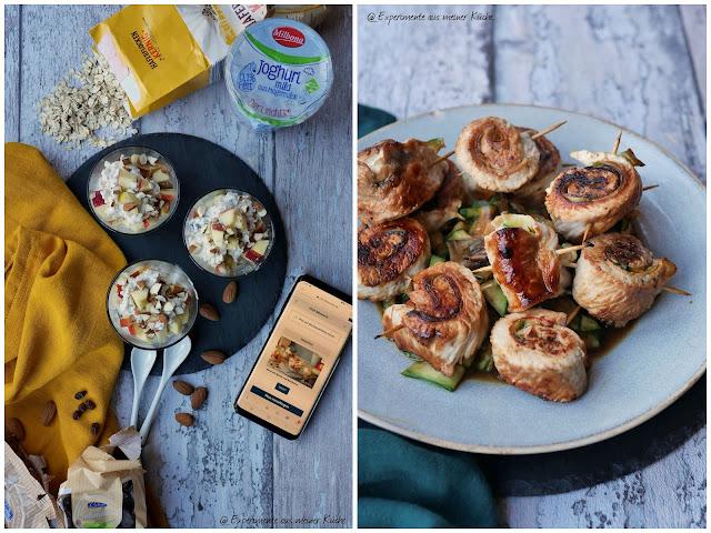 Puteninvoltini mit Zucchini | Rezept | Kochen | Essen | Frühstück | Müsli