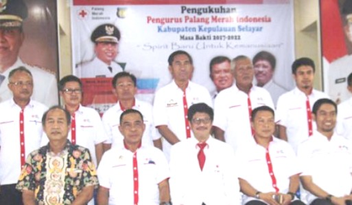 Dr.H.Zainuddin SH.MH ,Pimpin PMI Cab.Selayar 2017 - 2022