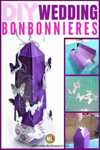 DIY wedding bonbonnieres project sheet