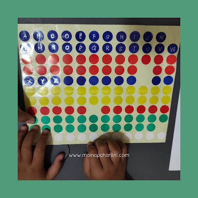 belajar mengenal huruf lewat permainan