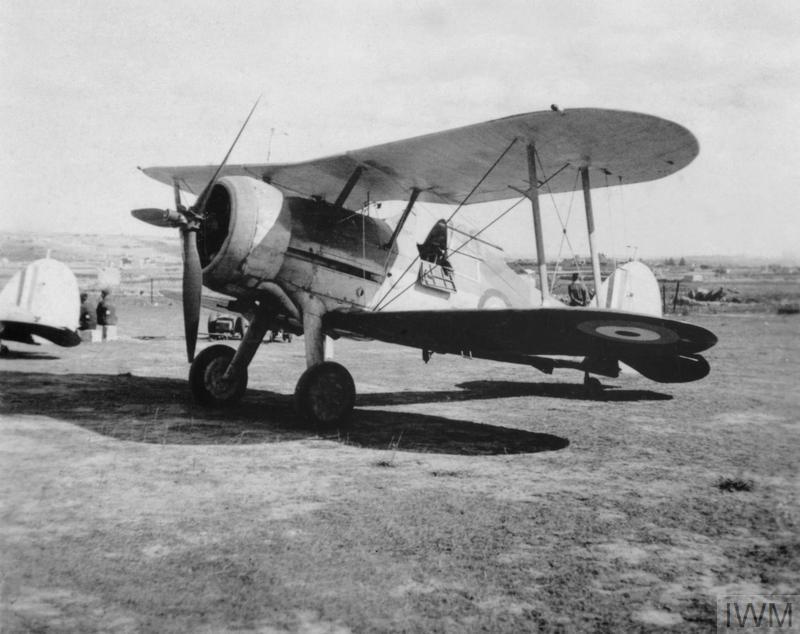 20 November 1940 worldwartwo.filminspector.com Gloster Sea Gladiator Faith