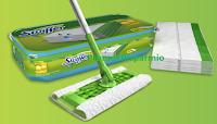 Logo Diventa una delle 100 tester Swiffer Panni Umidi con fragranza al profumo di limone