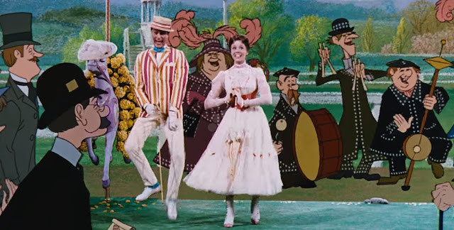 Mary Poppins - Dick Van Dyke and Julie Andrews