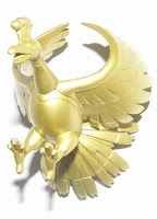 Ho-Oh figure gold version Takara Tomy MC