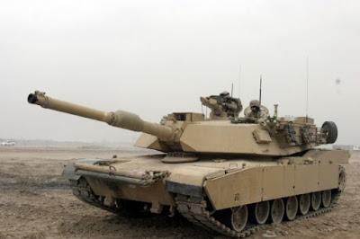 M1A2 Abrams A (Tank Amerika)