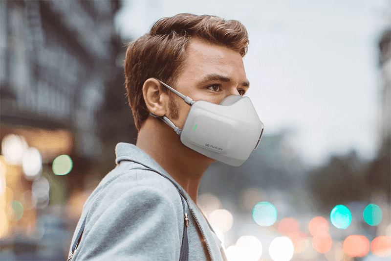 LG outs PuriCare Wearable Air Purifier face mask!