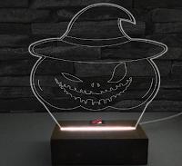 Logo Vinci gratis Lampada Halloween al Led