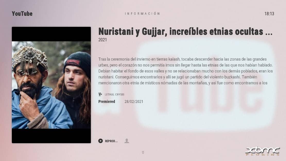 kodi documentales español
