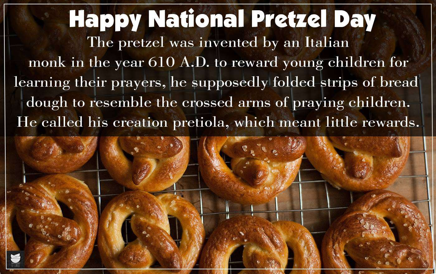 National Pretzel Day Wishes Images download