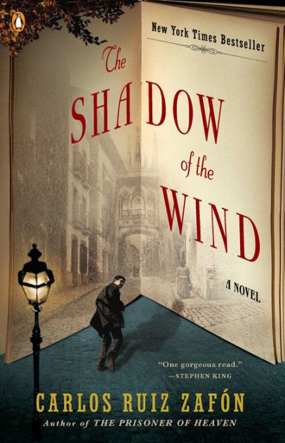Book cover for Shadow of the Wind by Carlos Ruiz Zafón Shadow of the Wind in the South Manchester, Chorlton, Cheadle, Fallowfield, Burnage, Levenshulme, Heaton Moor, Heaton Mersey, Heaton Norris, Heaton Chapel, Northenden, and Didsbury book group