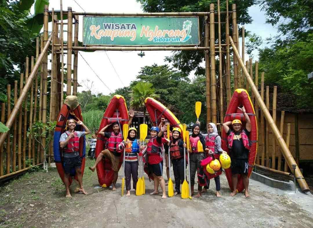 wisata kampung nglarang sidoarum