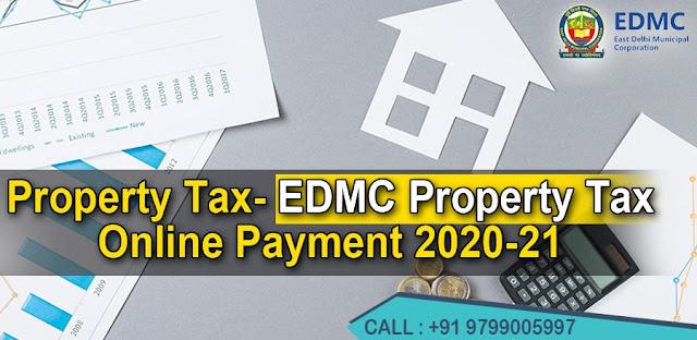 EDMC Property Tax Online Payment 2020-21