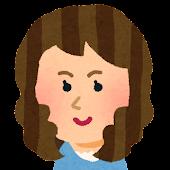 女性の顔アイコン 7