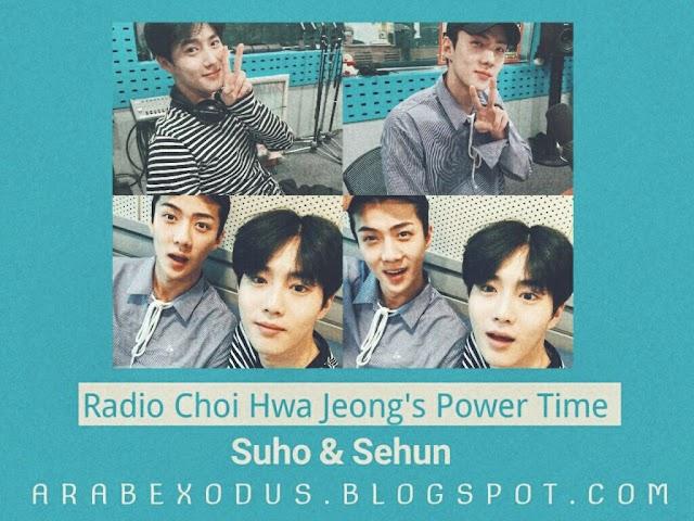 ترجمه || راديو Choi Hwa Jung's Power Time مع اكسو سوهو و سيهون