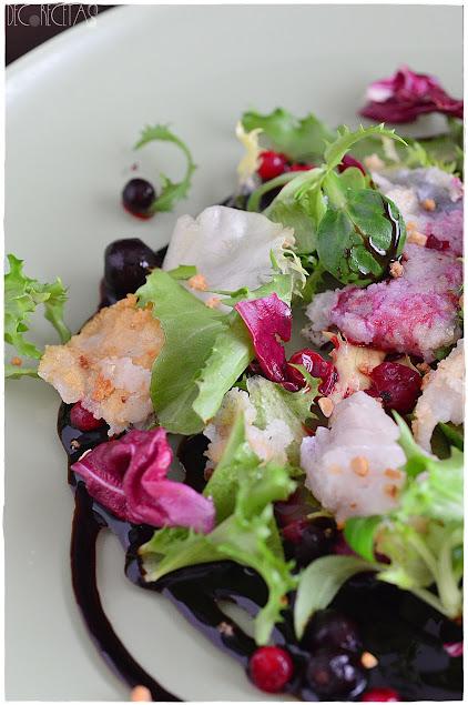 pimientos asados con bacalao bacalao con pimientos asados ensaladas templadas ensalada con queso de cabra