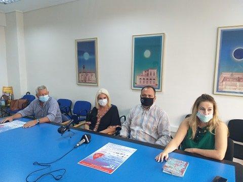 Η 18η Πανελλήνια Λαμπαδηδρομία Εθελοντών Αιμοδοτών στην Καλαμάτα