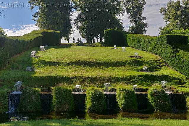 Les Jardins d'Annevoie Fountains
