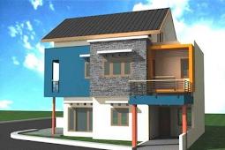 Contoh Design Rumah Lantai 2 Minimalis Modern