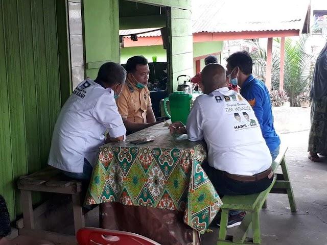 Safari Politik Cagub No Urut 3 Al Haris di Kabupaten Muaro Jambi