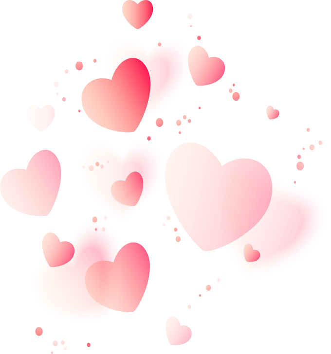 Heart Love Valentine's Day, red love background, pink hearts illustration, love, festive Elements png by: pngkh.com