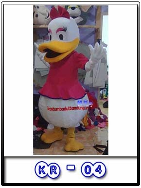 Harga Kostum Badut Dessy Donald Kr-04 Murah