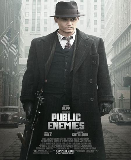 Public Enemies 2009 Dual Audio [Hindi-English] 480p BluRay 450MB ESubs