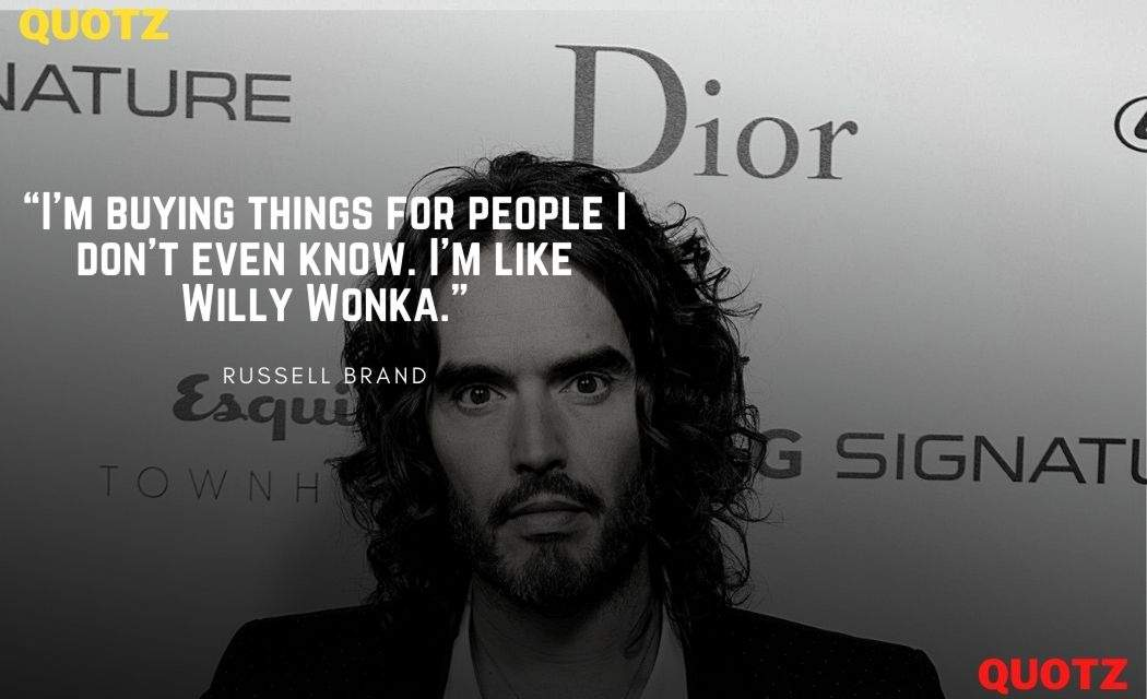 Best 30+ Quotes By Russell Brand With Quotes images.