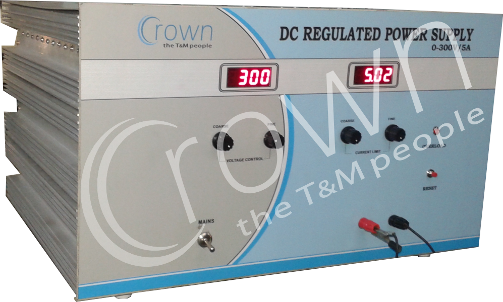 High Voltage DC Regulated Power Supply Manufacture in India