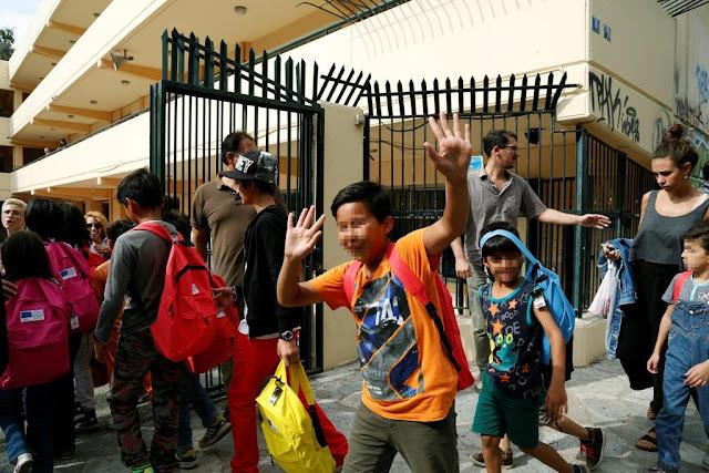 Διδάσκοντας σε τάξη υποδοχής προσφύγων: μια εμπειρία ζωής